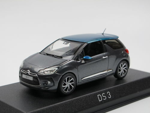 Norev 2015 Citroen DS 3 Grey / Emeraude 1/43