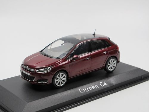 Norev 2015 Citroen C4 Berline Babylone Red 1/43