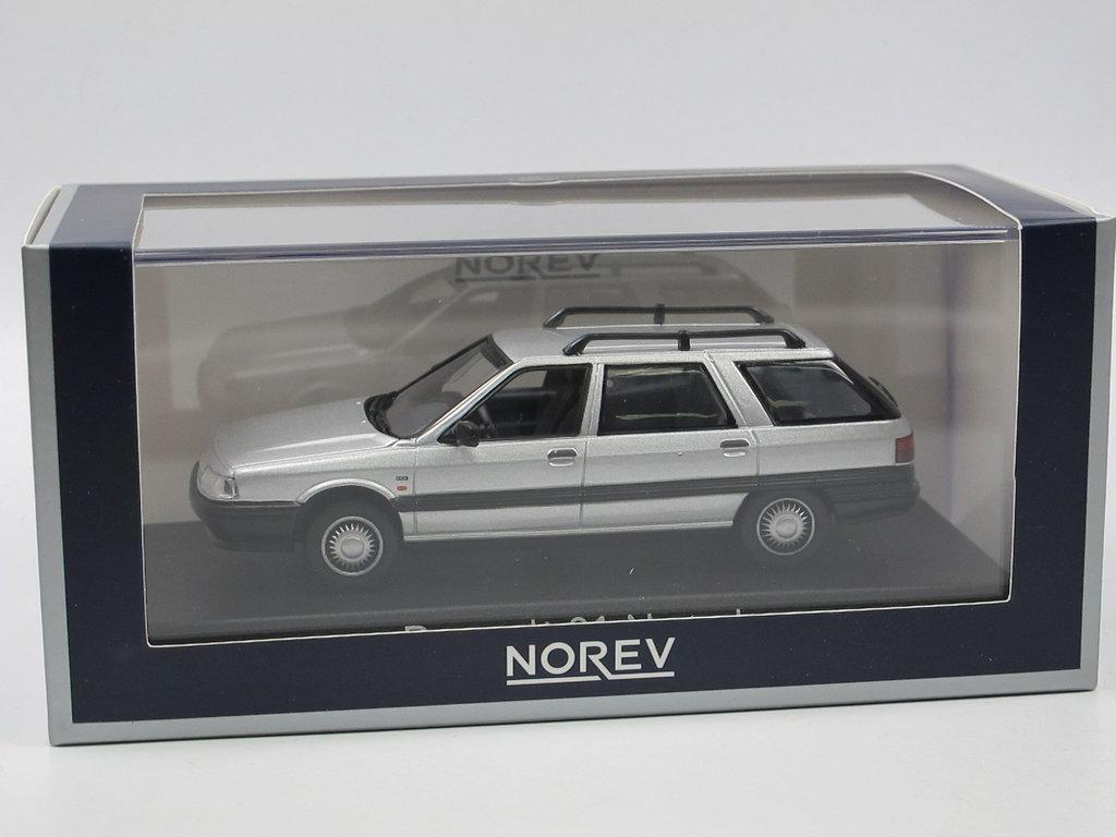 Renault 21 Nevada Kombi 1986 NOREV 1:43 silber