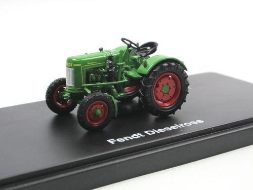Fendt F20G Dieselross Traktor grün Modellauto 1:43 Schuco