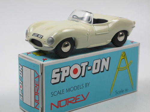 SPOT-ON Norev 1957 Jaguar XKSS weiß 1/42