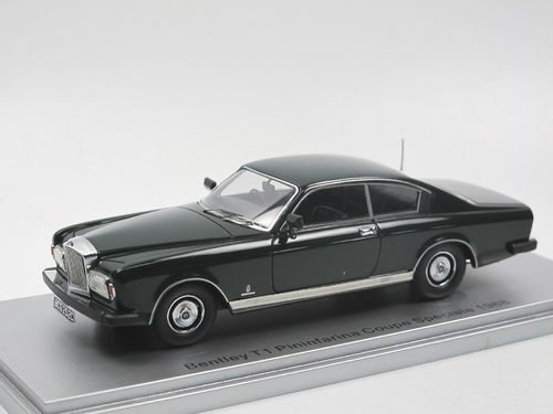 Kess Bentley T1 Pininfarina Coupe Speciale 1968 green 1/43
