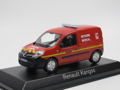 Norev 2013 Renault Kangoo Pompiers Secours Medical 1/43