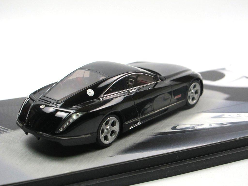 schuco 2005 maybach exelero concept car fulda 1/43 modellauto