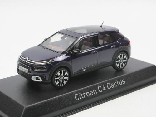 Norev 2018 Citroen C4 Cactus Deep Purple 1/43