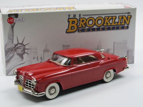 Brooklin Models 1955 Chrysler C-300 Coupe red 1/43