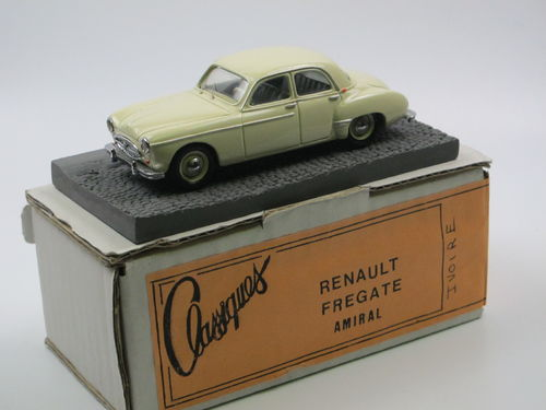 Classiques 1955 Renault Fregate Amiral ivory 1/43