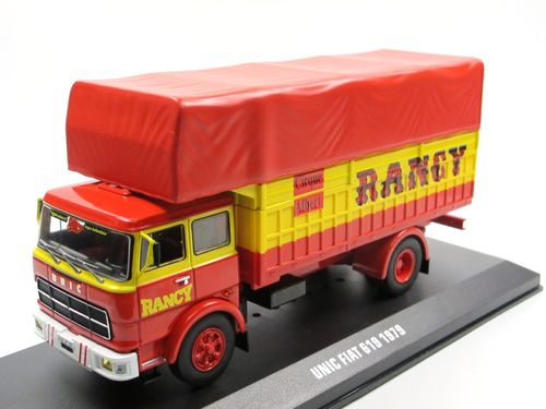 IXO 1979 UNIC Fiat 619 CIRQUE ALBERT RANCY 1/43