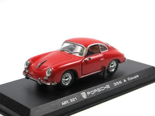 Detail Cars 1955 Porsche 356 A Coupe rot 1/43