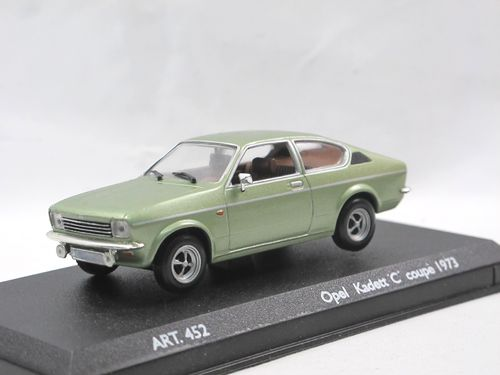 Detail Cars 1973 Opel Kadett C Coupe grün metallic 1/43