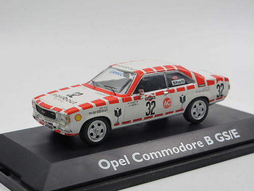 Schuco Opel Commodore B GS/E 24h Spa 1973 #32 1/43