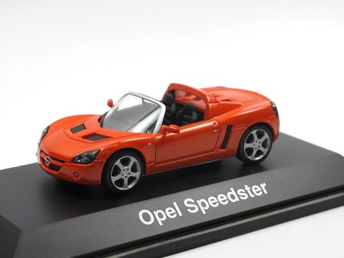 Schuco Opel Speedster (2000-2005) orange 1/43