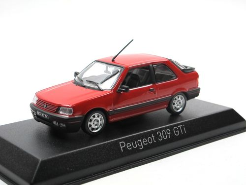 Norev 1987 Peugeot 309 GT Vallelunga Red 1/43