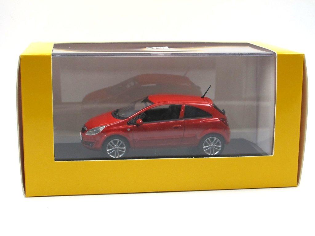 Opel CoRSa D Rot 3 TÜrer Ca 1//43 1//36-1//46 Welly Modellauto Modell Auto