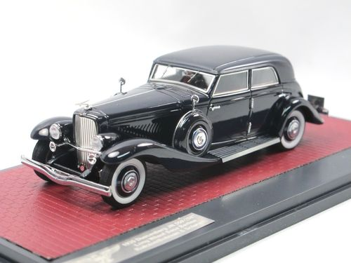 Matrix 1935 Duesenberg JN Sedan LWB by Rollston blue 1/43