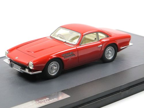 Matrix 1963 Jaguar D-Type Le Mans Michelotti red 1/43