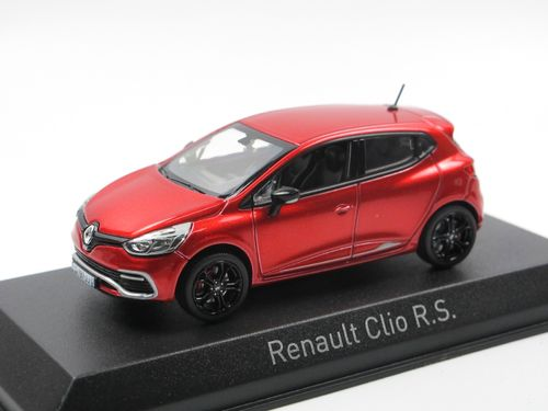 Norev 2013 Renault Clio RS Flame Red 1/43