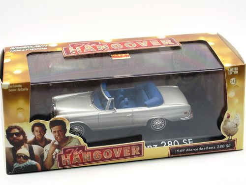 Greenlight Mercedes-Benz 280 SE Cabriolet THE HANGOVER 1/43
