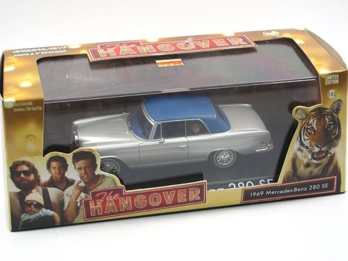 Greenlight Mercedes-Benz 280 SE THE HANGOVER mit Tiger 1/43
