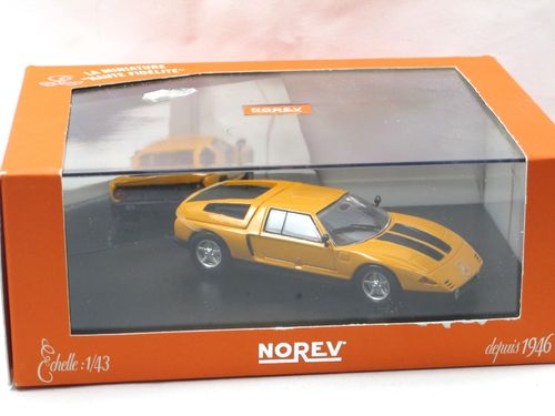 Norev 1970 Mercedes-Benz C111/II Quadrirotor orange 1/43