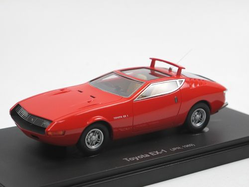 Avenue 43 Toyota EX-1 Concept Car 1969 Japan 1/43