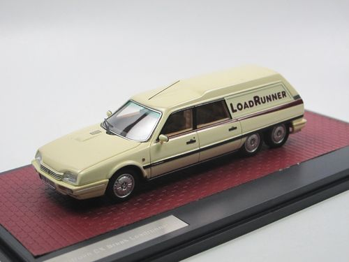 Matrix 1989 Citroen CX Loadrunner 6-Wheeler creme 1/43