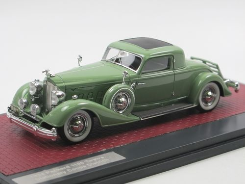 Matrix  1934 Packard 1108 Twelve Coupe Dietrich green 1/43
