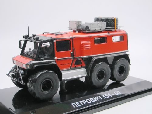 DIP Models 2014 Petrovich 354-60 All Terrain Vehicle red 1/43