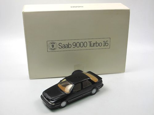 Somerville Models 1985 Saab 9000 Turbo 16 black 1/43
