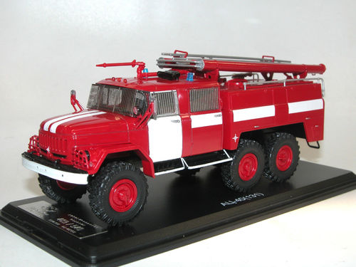 Start Scale Models Feuerwehr AC-40 ZIL-131 Fire Engine 1/43