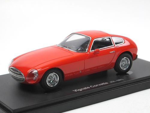 Avenue 43 1961 Kelly Corvette by Vignale red 1/43