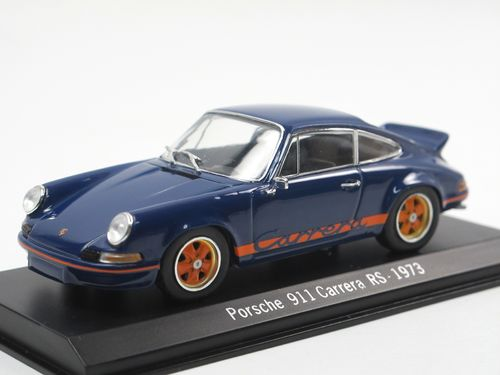 Spark 1973 Porsche 911 Carrera RS blau/orange 1/43