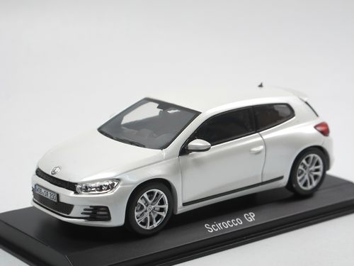 Spark 2014 VW Scirocco III GP Pearl White 1/43