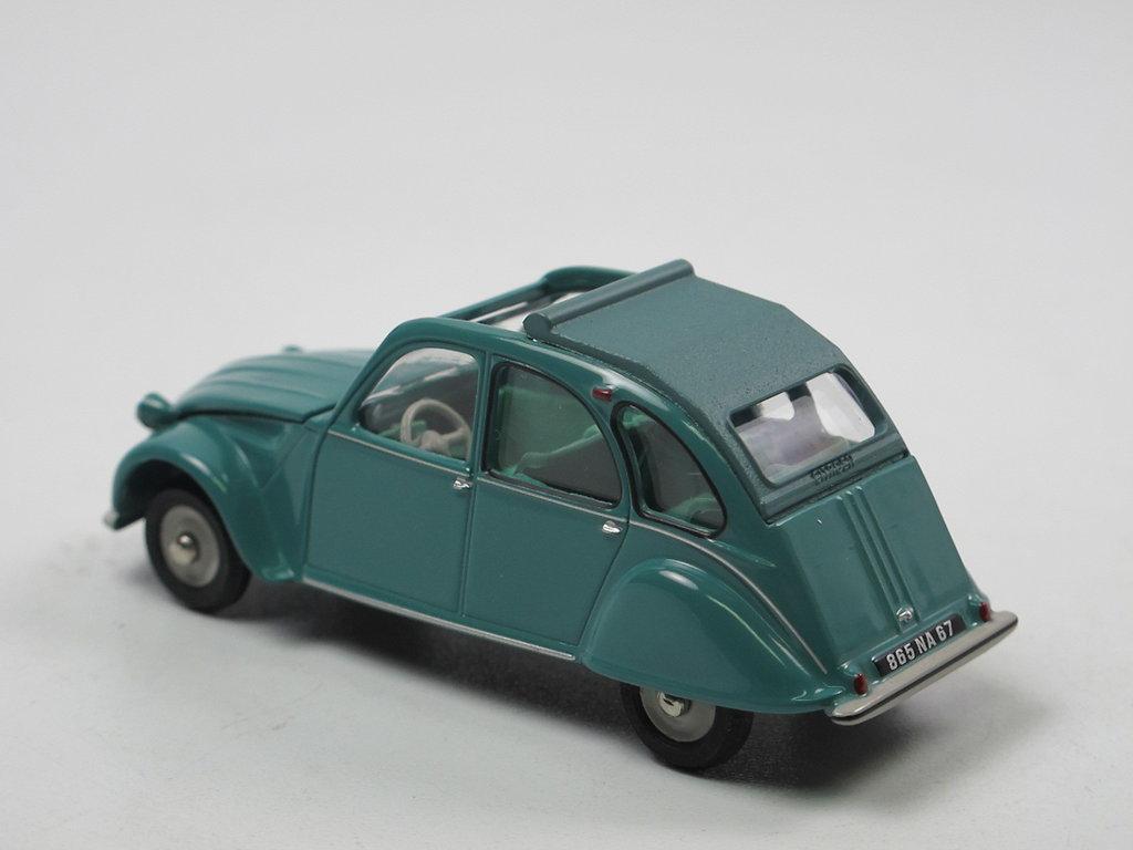 CITROEN 2 CV AZL 1966 1968 voiture miniature 1//43 collection norev CL1521