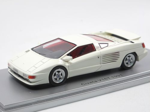 KESS Scale Models 1991 Cizeta V16T Supersportwagen white 1/43