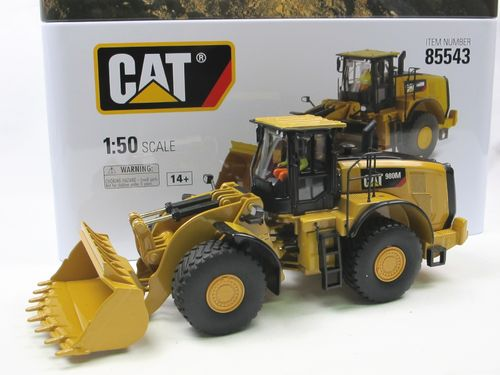 Diecast Masters CAT 980M Radlader Wheel Loader 1/50