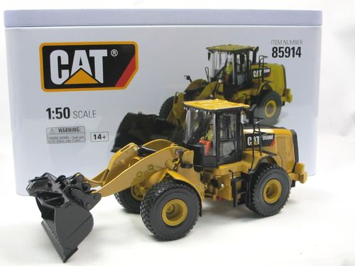 Diecast Masters CAT 950M Radlader Wheel Loader 1/50