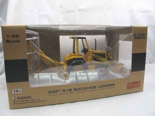 NORSCOT CAT 416 Baggerlader Backhoe Loader 1/32