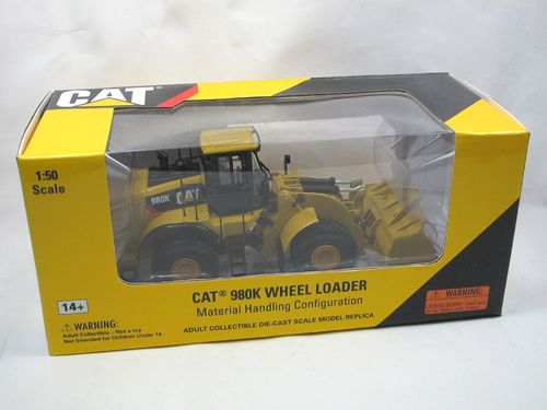 NORSCOT CAT 980K Wheel Loader Material Handler 1/50
