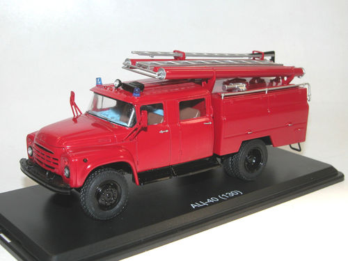 Start Scale Models Feuerwehr AC-40 ZIL-130 Fire Engine 1/43