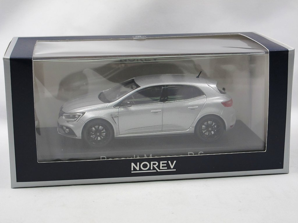 Renault Megane RS 2017 silber Modellauto 1:43 Norev