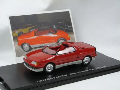 Franstyle 1986 Citroen Xanthia Roadster Concept Car 1/43