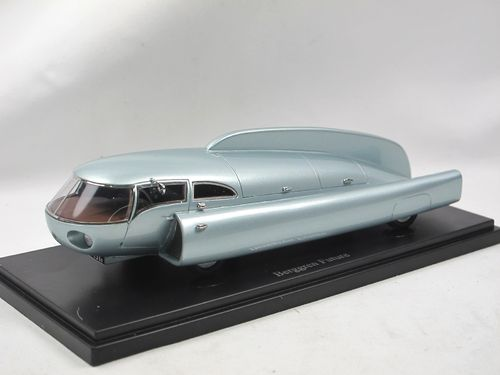 AutoCult 1951 Berggren Future Car blau metallic 1/43