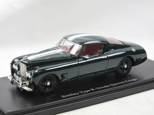 AutoCult Models 1954 Bentley Type R Gooda Special Coupe 1/43