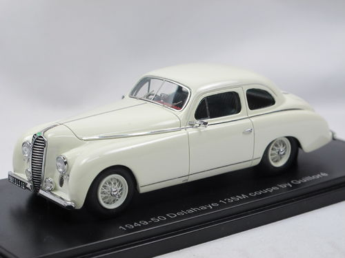 ESVAL 1949 Delahaye 135M Coupe by Guillore off-white 1/43