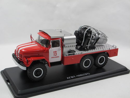 Start Scale Models AGVT-100 ZIL 131 Turbolöscher 1/43