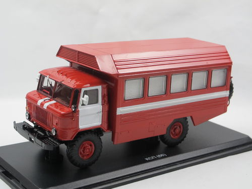 Start Scale Models KSP GAZ 66 Einsatzzentrale 1/43