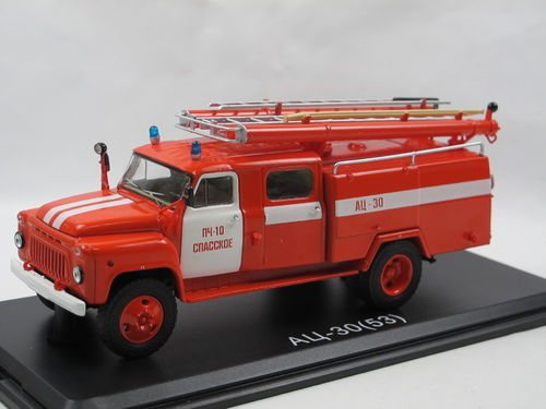 Start Scale Models Feuerwehr AC-30 GAZ 53A Fire Engine 1/43