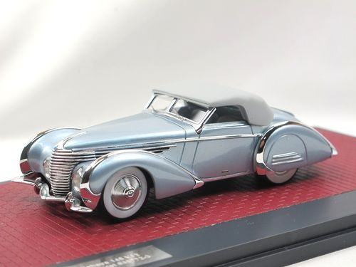 Matrix 1946 Delahaye 145 V12 Franay Cabriolet closed 1/43