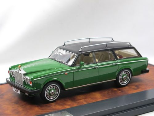 1980 RR Silver Shadow FLM Panelcraft Estate green Matrix 1/43